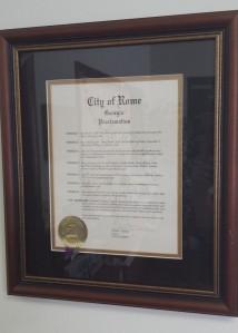 2004 Proclamation